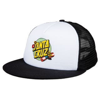 Santa Cruz Summer of 76 Mesh Back Cap White / Black OS