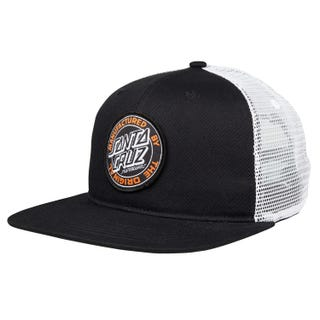 Santa Cruz MFG Dot Cap Black / White