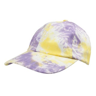 Santa Cruz Mako Dot Cap Yellow / Purple Fold Dye