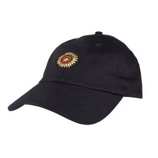 Santa Cruz Sunflower Cap Black O/S Twill