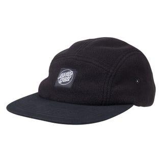 Santa Cruz Opus Dot Label Cap Black / Black