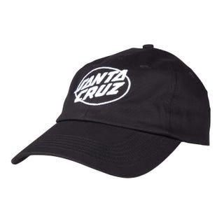 Santa Cruz Club Oval Dot Cap Black O/S