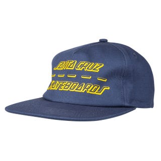 Santa Cruz UK & EU Street Strip Cap Vintage Navy