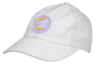 Santa Cruz UK & Europe Moon Dot Badge Cap