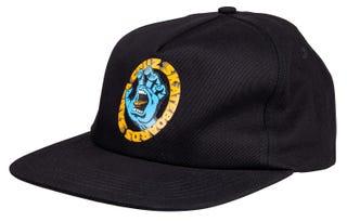 Santa Cruz UK & Europe Scream Cap Black