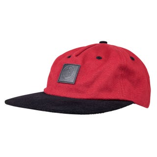 Santa Cruz Rigg Cap One Size Brick Red