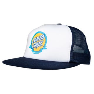 Santa Cruz Dot Reflection Cap Navy / White