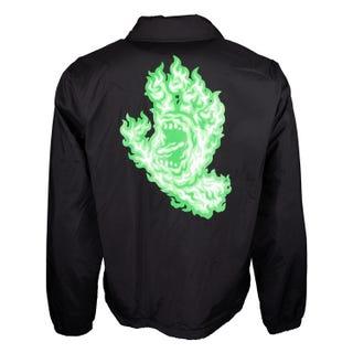 Flame Hand Coach Jacket