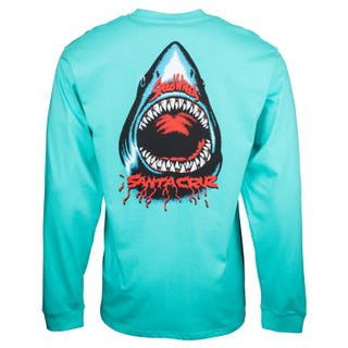 Speed Wheels Shark L/S T-Shirt
