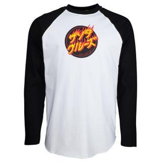 Flaming Japanese Dot L/S T-Shirt