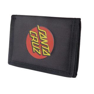 Santa Cruz Classic Dot Wallet Black