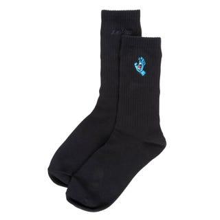 Screaming Hand Socks by Santa Cruz - Mini Hand Black OSFA