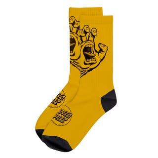 Screaming Hand Mono Sock