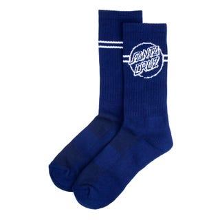 Opus Dot Stripe Crew Sock