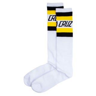 Santa Cruz OGCS Cutaway Socks White