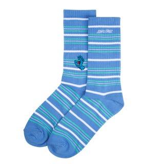 Screaming Mini Hand Stripe Sock