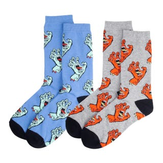 Multi Hand Socks (2 Pack)