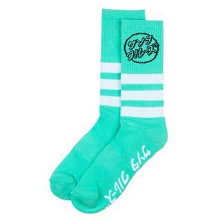 Santa Cruz Other Japanese Dot Socks Jade Green