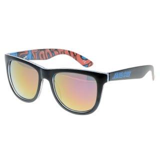 Santa Cruz Sunglasses - Screaming Insider Black/Blue