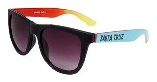 Santa Cruz Fade Hand Sunglasses Black / Blue.