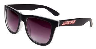 Check Strip Sunglasses