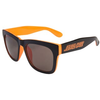 Santa Cruz Dazed Sunglasses Black / Fluro Orange