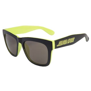 Santa Cruz Dazed Sunglasses Black / Safety Green