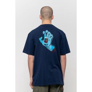 Screaming Hand Chest T-Shirt