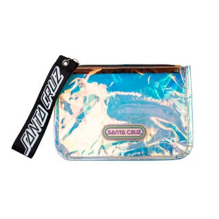 Santa Cruz Woodstock Zip Pouch Clear