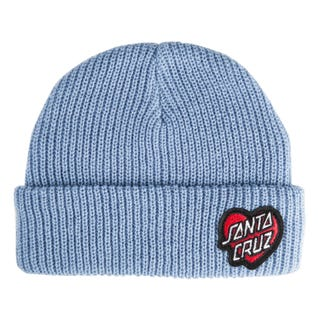 Santa Cruz Heart Dot Beanie Powder Blue