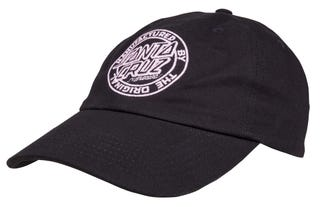 Santa Cruz UK & Europe Mfg Dot Black Cap