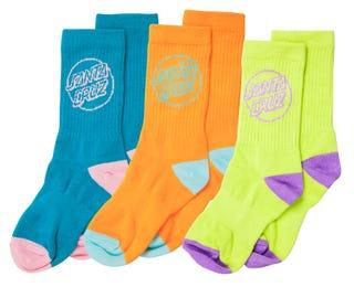 Santa Cruz Outline Dot Socks