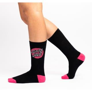 Santa Cruz Pop Dot Women's Socks (3 Pack)