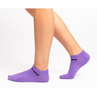 Santa Cruz Strip No Show Women's Socks (3 Pack) Assorted