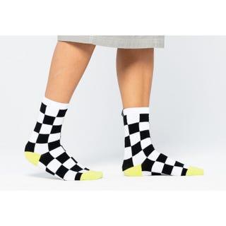 Check Strip Socks (2 Pack)