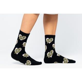 Santa Cruz Multi Heart Dot Socks