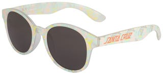 Santa Cruz Accessories - Tie-Dye Strip Sunglasses Coral/Jade