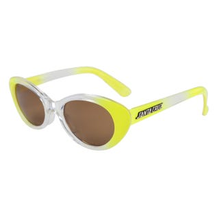 Santa Cruz Sunglasses - Tropicana Crystal Yellow