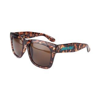 Santa Cruz  Strip II Brown Tortoiseshell Sunglasses
