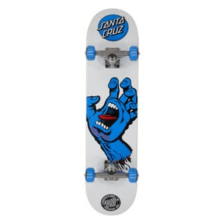 Santa Cruz Screaming Hand Skateboard Complete 7.75""