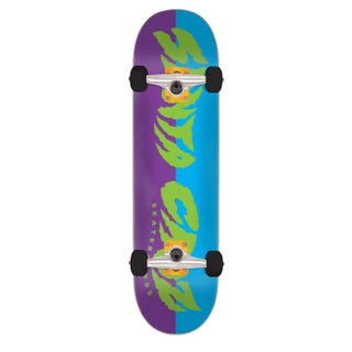 "Santa Cruz Skateboards Completes. Surge 8"" Green / Purple"