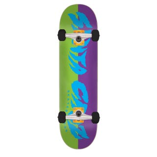 "Santa Cruz Skateboards Completes. Surge 7.75"" Green / Purple"