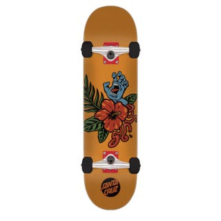 "Santa Cruz Skateboards Completes. Vacation Hand 7.25"" Orange"