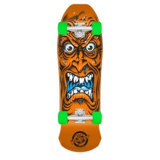 "Santa Cruz Complete Longboards. Roskopp Face Mini 80'S Cruzer 26"" Orange"