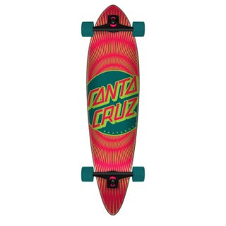 Santa Cruz Vertigo Ray Dot Cruzer Pintail Multi 39""