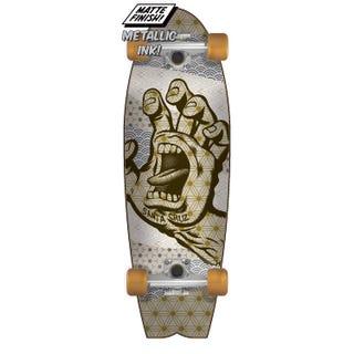 "Santa Cruz Monyo Hand 27.7"" Complete Skateboard Multi"