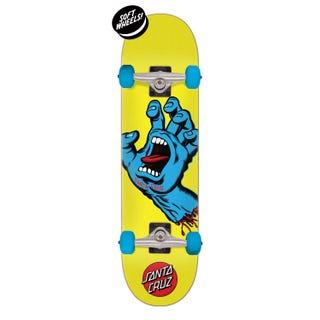 "Santa Cruz Screaming Hand Skateboard Complete 7.75"" Multi"