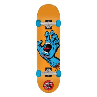 "Santa Cruz Screaming Hand Skateboard Complete 7.8"" Multi"