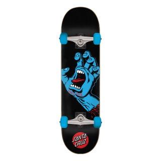 "Santa Cruz Screaming Hand Skateboard Complete 8.0"" Multi"