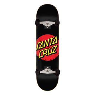 """Santa Cruz Classic Dot 8"""" Skateboard Complete Multi"""